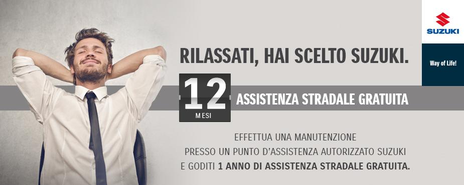 12 mesi assistenza stradale service