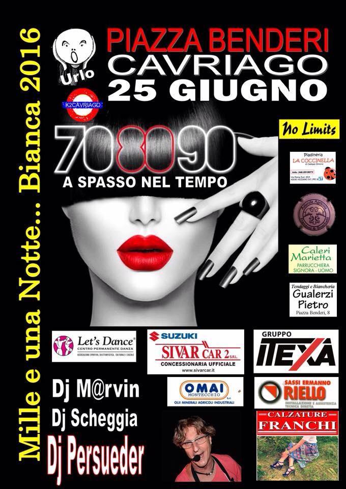 Mille e una notte bianca 2016 Cavriago