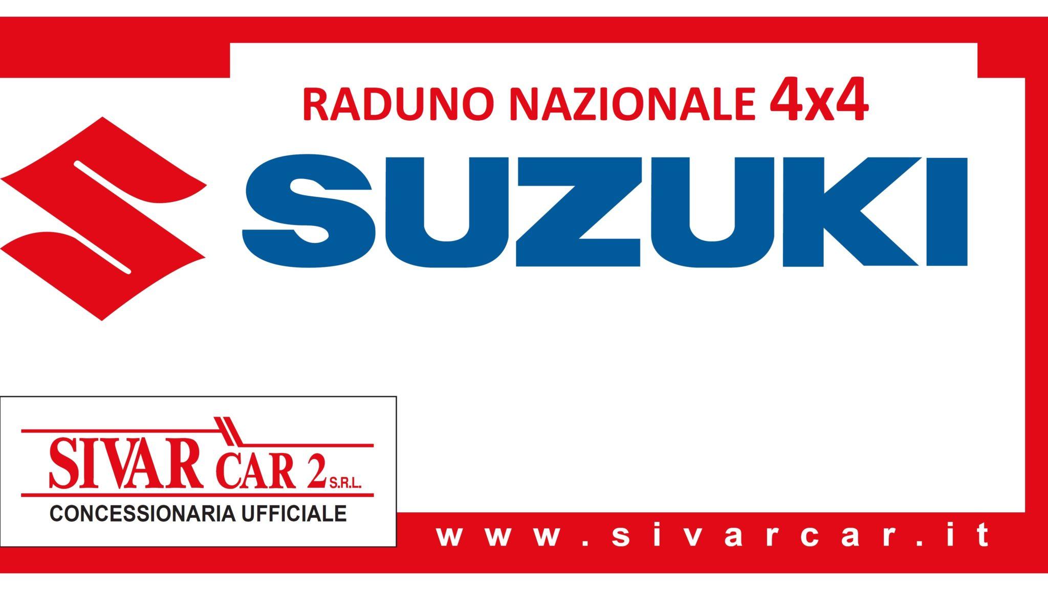 SUZUKI raduno banner